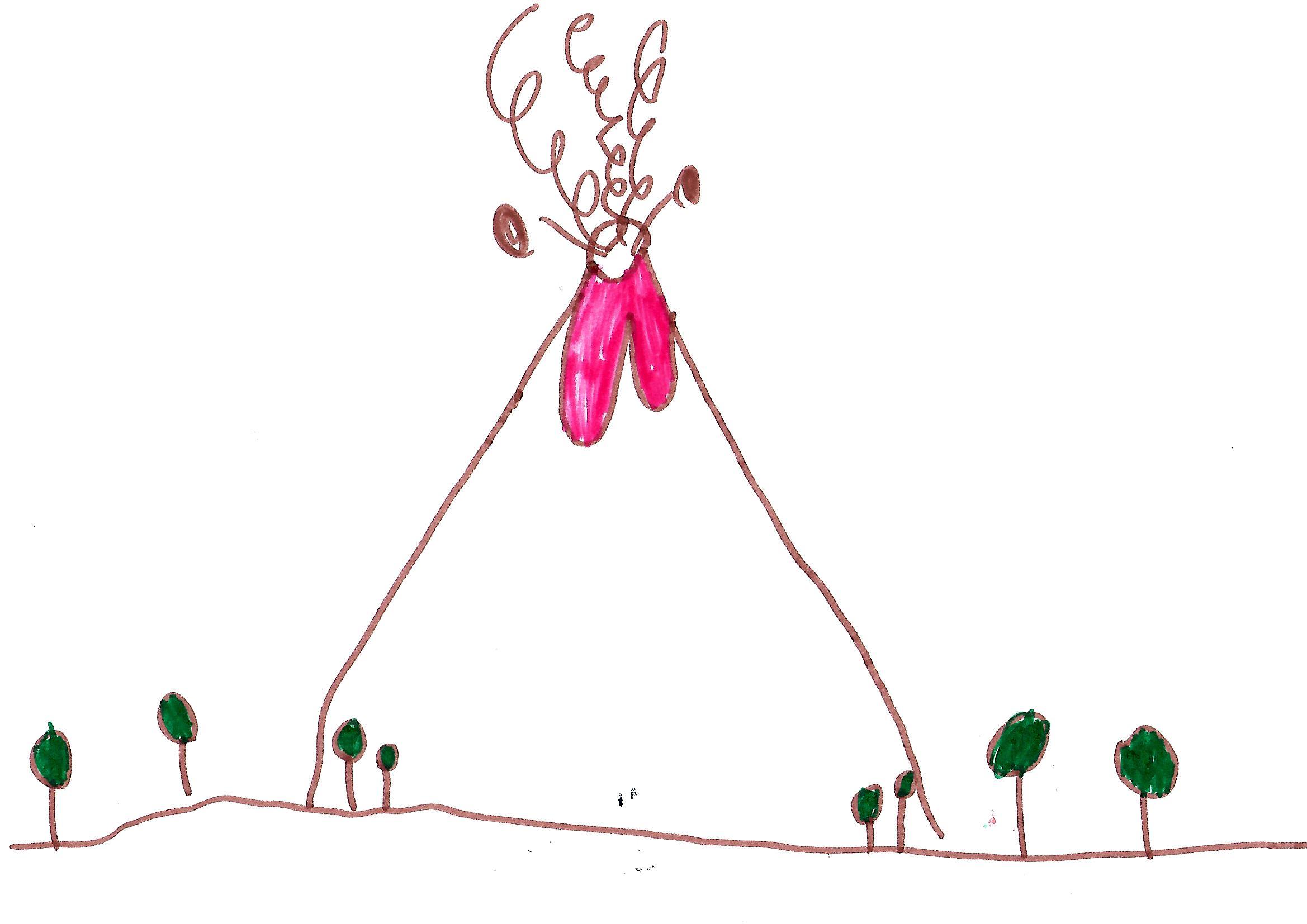 Vulcani Disegni: Disegni Bambini Vulcano In Eruzione