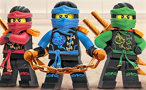 Canzoni Per Bambini Lego Ninjago Trailer Cartone Animato