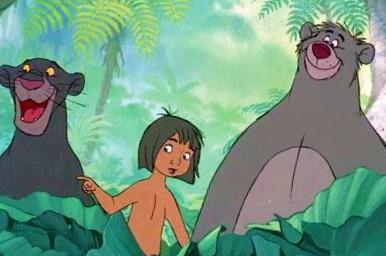 Walt disney screencaps mowgli baloo personaggi disney foto