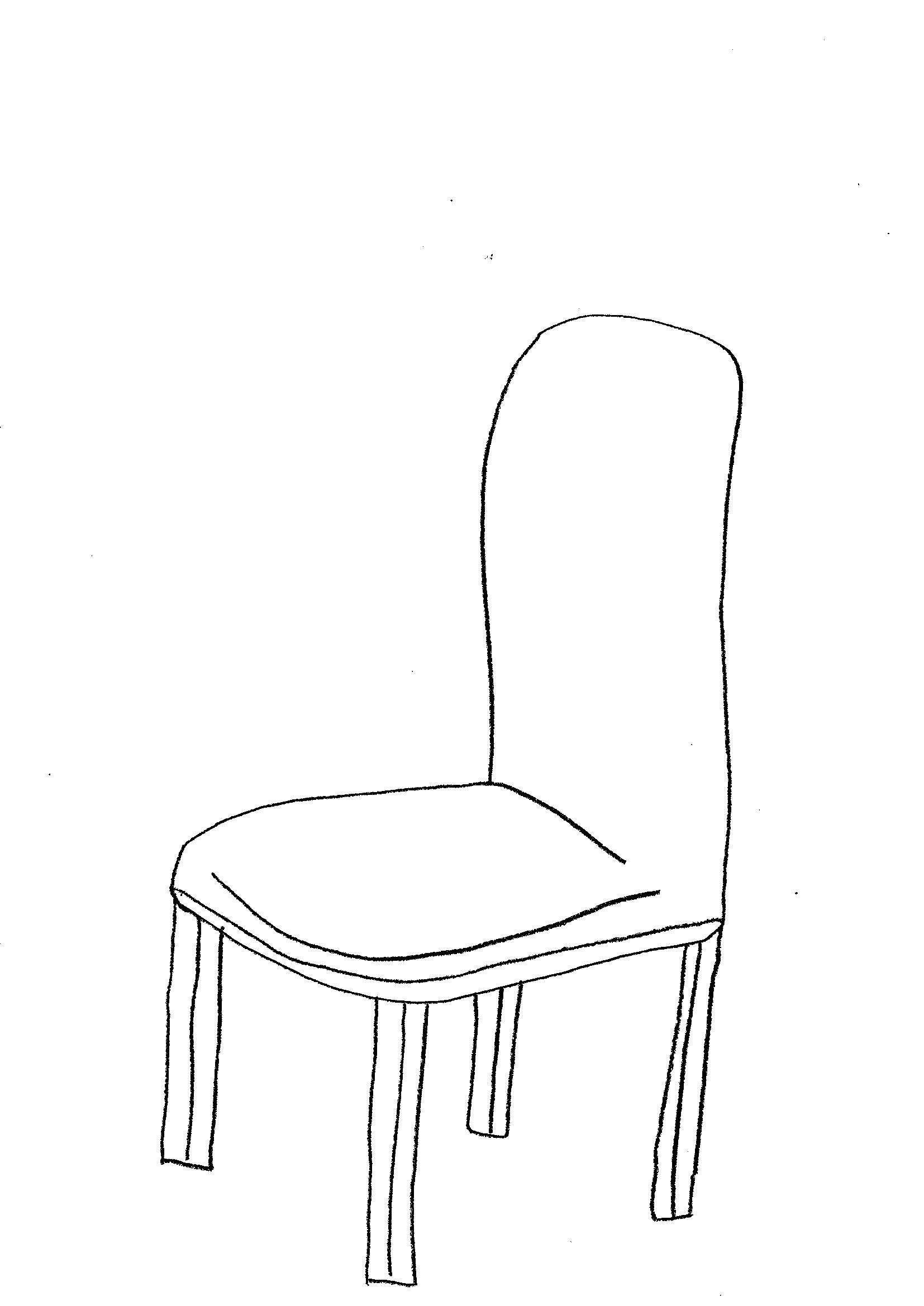 disegno sedie bambini