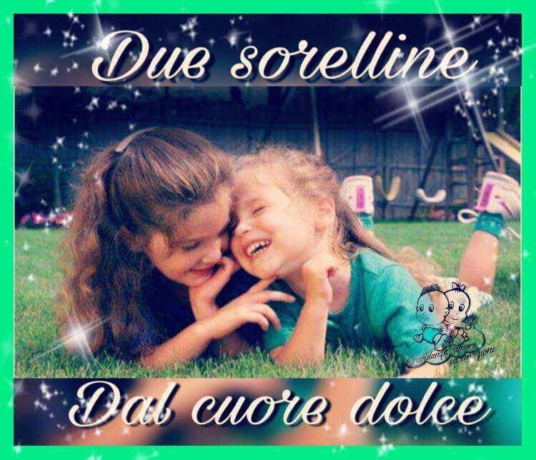 Favole Buonanotte Bambini 2 Sorelline Dal Cuore Dolce Favola Per